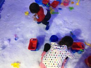 他の施設にはない雪遊び(メリット)