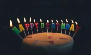 今までとは違う誕生日